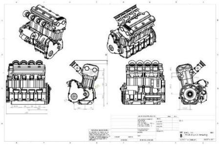 V Twin Motorcycle Engines Diagram